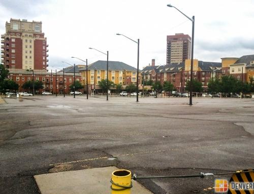 parking lots downtown denver