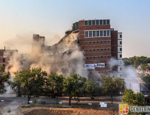 Demolition Underway at 9th and Colorado
