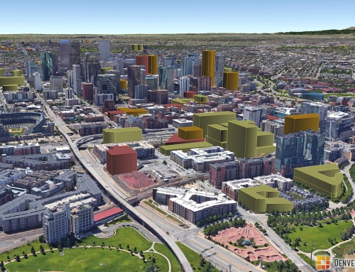 Denver 3D Future Skyline: July 2016