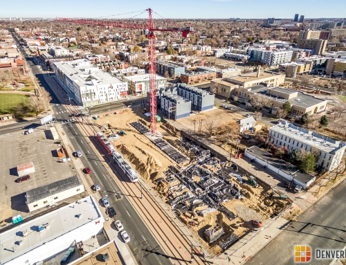 Arapahoe Square Gets Two Tower Cranes!