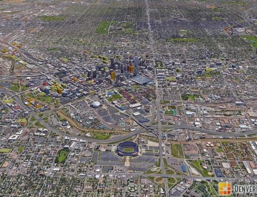 Denver 3D Future Skyline: December 2016