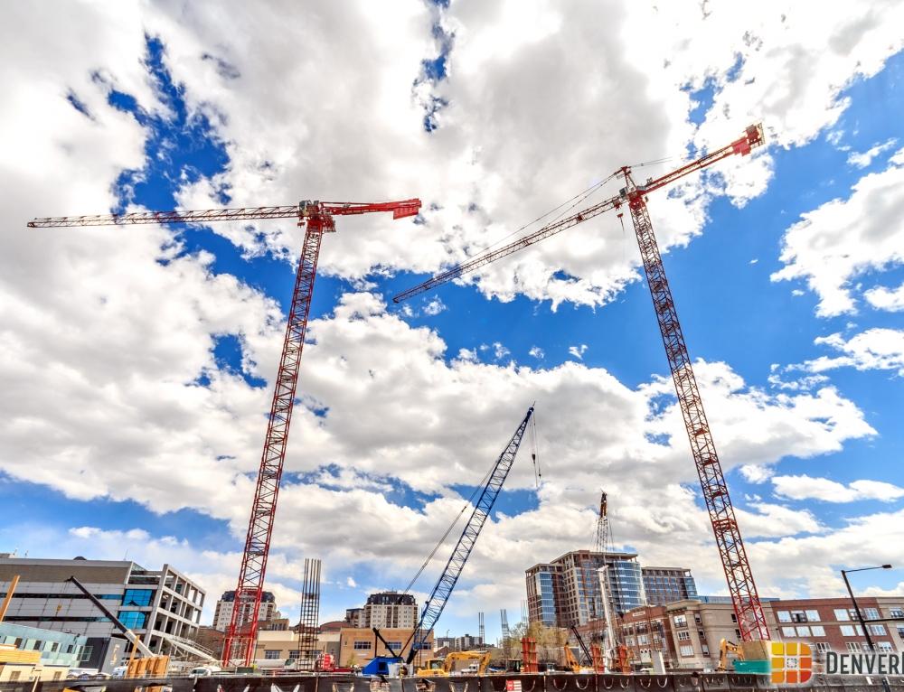 Denver Gets Three More Tower Cranes!
