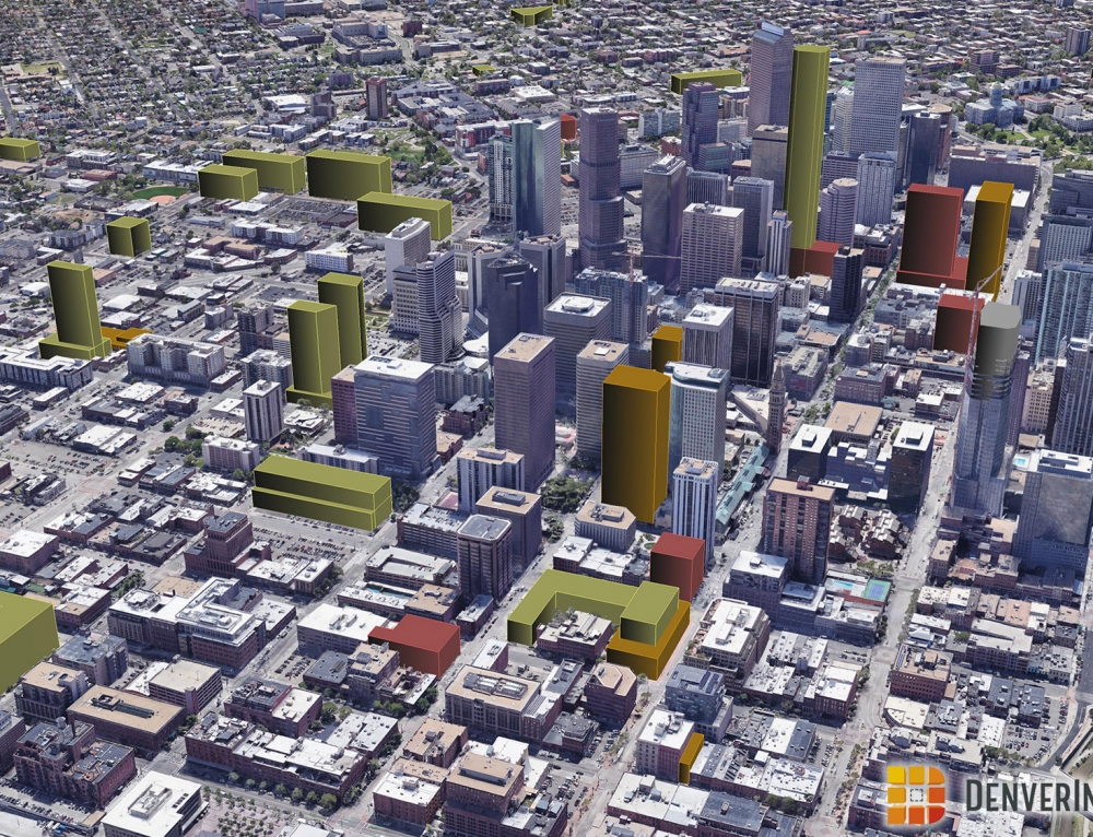 Denver 3D Future Skyline June 2018