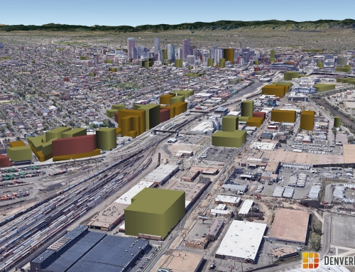 Denver 3D Future Skyline January 2020